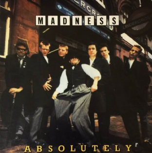 Madness ‎- Absolutely (LP) (EX/EX-)